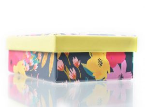 Small Bright Floral Gift Box