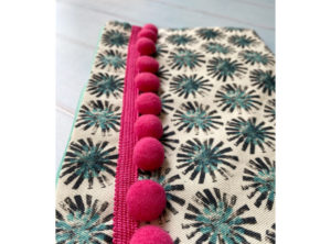 IzziRainey Pom Pom Washbag