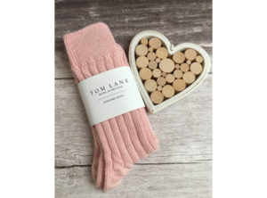 Tom Lane Pink Alpaca Bed Socks