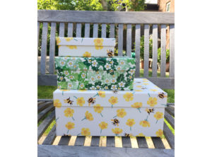 Buttercups & Bees Large Floral Gift Box