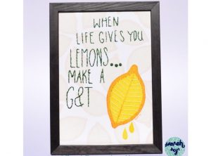 When Life Gives You Lemons Art Print