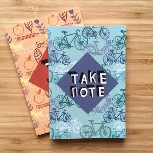 Katie Allen Take Note Notebook