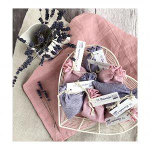 The Lavender House lavender bags.