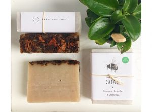 Bee Clean Geranium, Lavender & Chamomile Soap