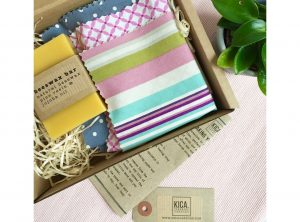 Make Your Own Beeswax Food Wrap Kit