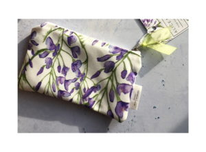 ALice Millin hand-made Wisteria purse