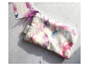 Alice Millin handmade Sweet Pea purse.