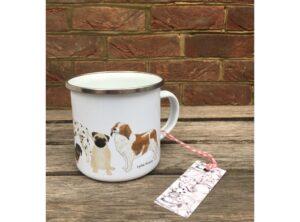 Dogs Enamel Mug
