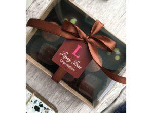 Dark & Boozy Chocolate Boxes by Linny Lane