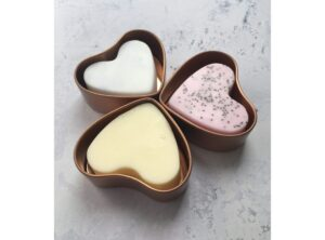 Little Suds Rose Heart Soaps