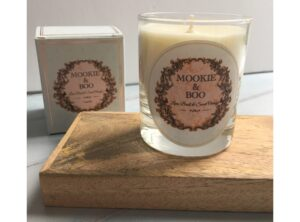 Mookie and Boo Candles