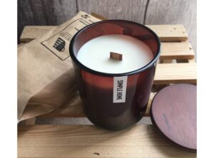 Caramel Latte Candle by Simple Home