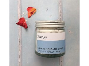 A Soothing Bath Soak blended with Himalayan Pink Salt.