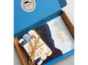 Blue Letterbox