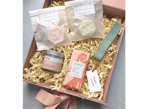 All is calm christmas gift box