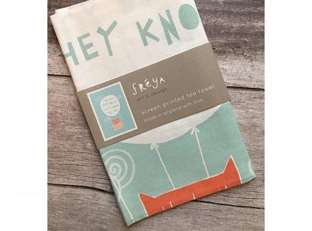 Freya art & design Follow Your Dreams Tea towel