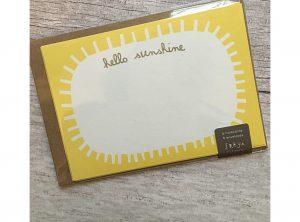 Hello Sunshine Notecards