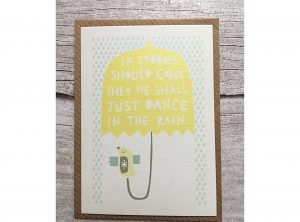 Dance in the Rain Mini Card