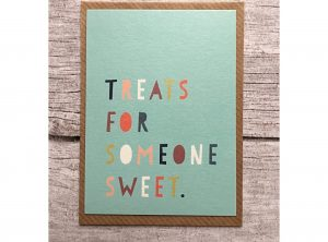 Treats for Someone Sweet Mini Card