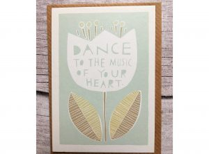 Dance to the Music of Your Heart Mini Card