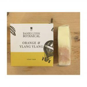 Banks Lyon Botanical Orange & Ylang Ylang Soap bar