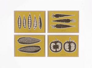 detail of Studio Wald Vegetarian Recipe Cards