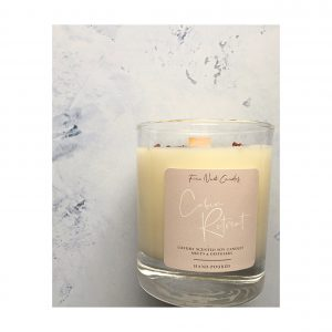 Soy candle Cabin Retreat scent