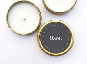 Rest Candle
