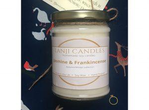 Jasmine & Frankincense Soy Candle