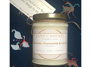 Lavender, Chamomile and Vanilla Soy Candle