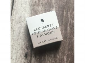 Blueberry, Pomegranate And Almond Lip Exfoliator