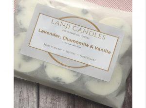 Lavender, Chamomile & Vanilla Wax Melts