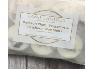 Damson Plum, Bergamot & Patchouli Wax Melts